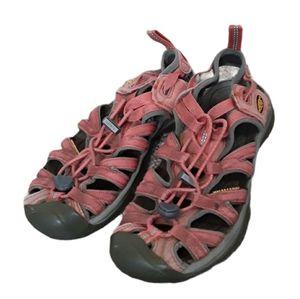 Keen Whisper Pink Waterproof Hiking Sandals